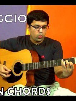 Guitar Arpeggios Exercises Book - Level - I, II, III