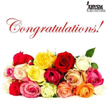 Sheet Music - Congratulations