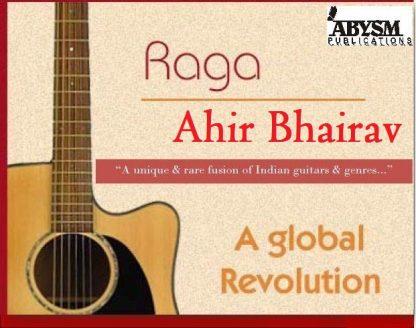 Raga Ahir Bhairav on Guitar | Sheet Music | Notes, Staff, Tabs | Piano