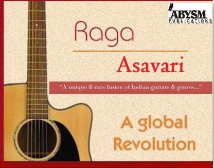 Sheet Music - Raga Asavari   Music Notations   Guitar, Piano, Ragas, Notes, Lesson