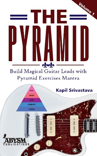 The Pyramid 1 (Lead exercises Mantra) Book let Sheets Guitar Leads Terchnical Books